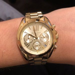 Michael Kors gold watch-brand new battery